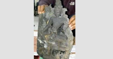 Touchstone Vishnu idol recovered in Dinajpur  – Countryside – observerbd.com