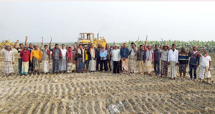 Farmers demand time to harvest crops from govt land | The Asian Age Online, Bangladesh