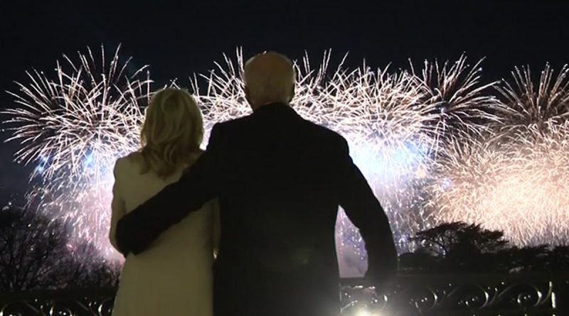 Fireworks, Katy Perry Light Up Washington After Biden's Inauguration