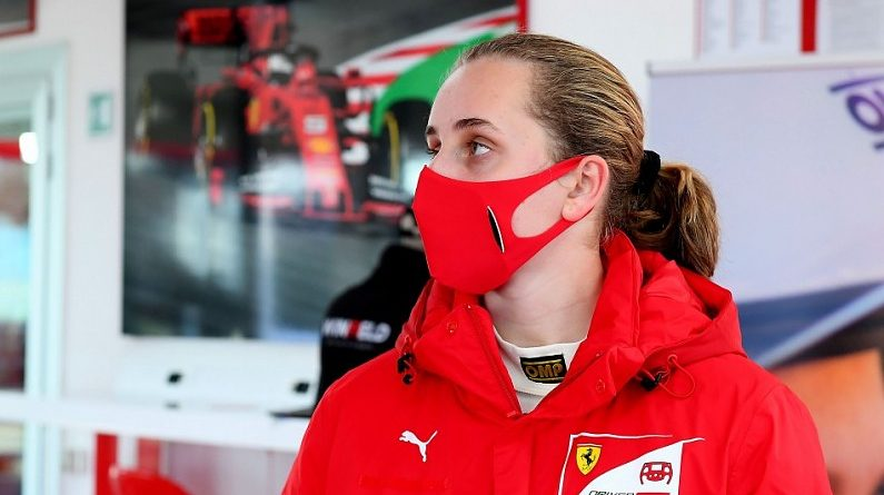 Weug wins FIA's Girls on Track initiative and spot in Ferrari Driver Academy | Other News