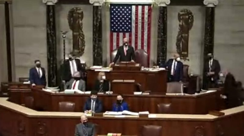 Congress Reconvenes After Coup, to Count Electoral College Votes