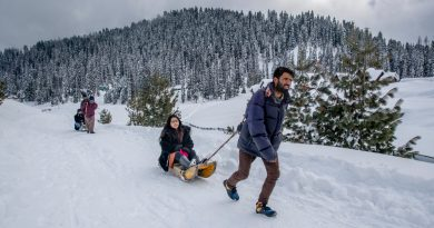 Photos: Kashmir resort sees tourists after back-to-back shutdowns | India News