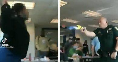 Florida Cop Fires Taser at High School Girl After Violent Altercation