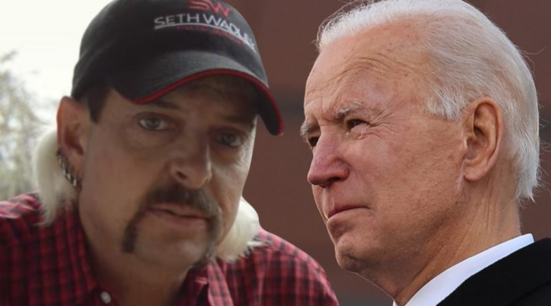 Joe Exotic Not Giving Up on Pardon, Pivoting to Biden Administration