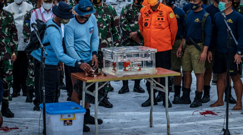 'Black Box' From Indonesia Plane Crash Is Recovered