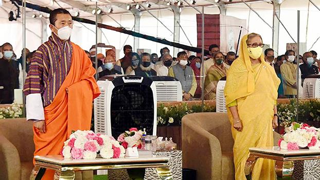 Bangladesh blessed to have Sheikh Hasina: Bhutan PM